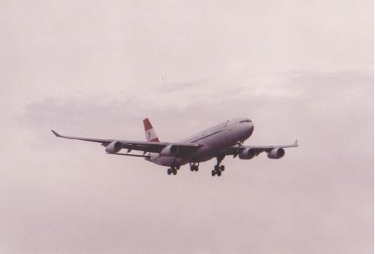 Austrian A340